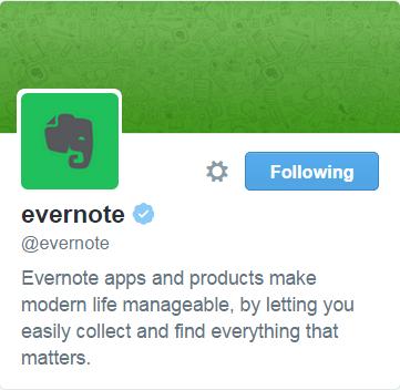 evernote acoounte twitter geekgenes