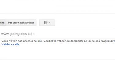 google webmaster geekgenes