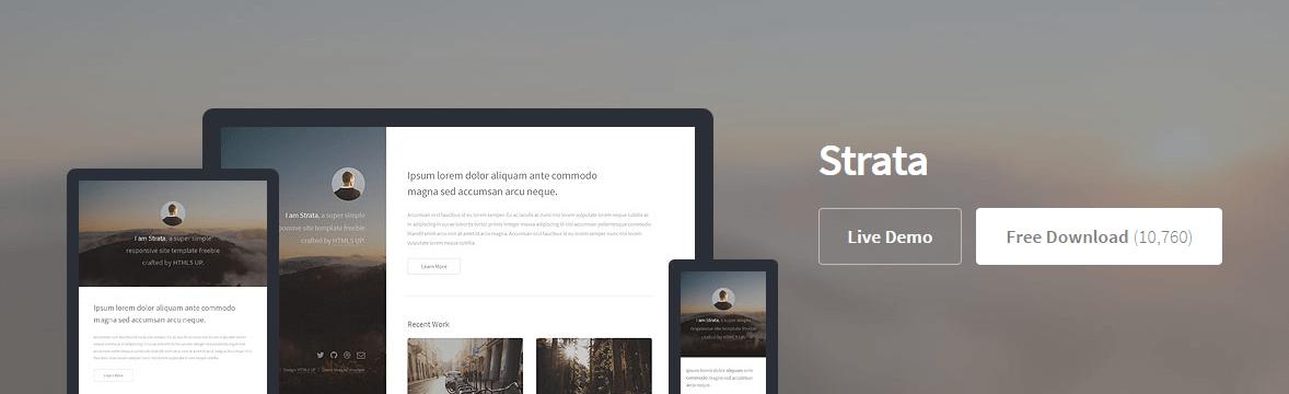 free template HTML5 geekgenes