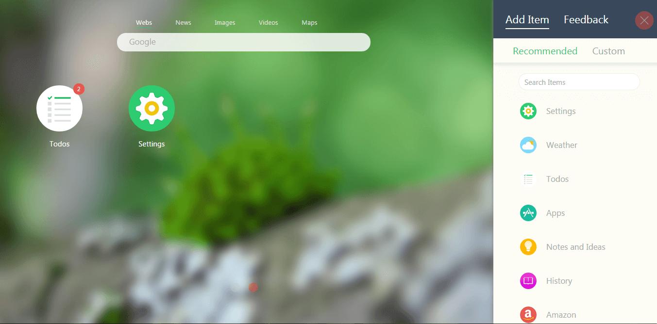 new tab google chrome
