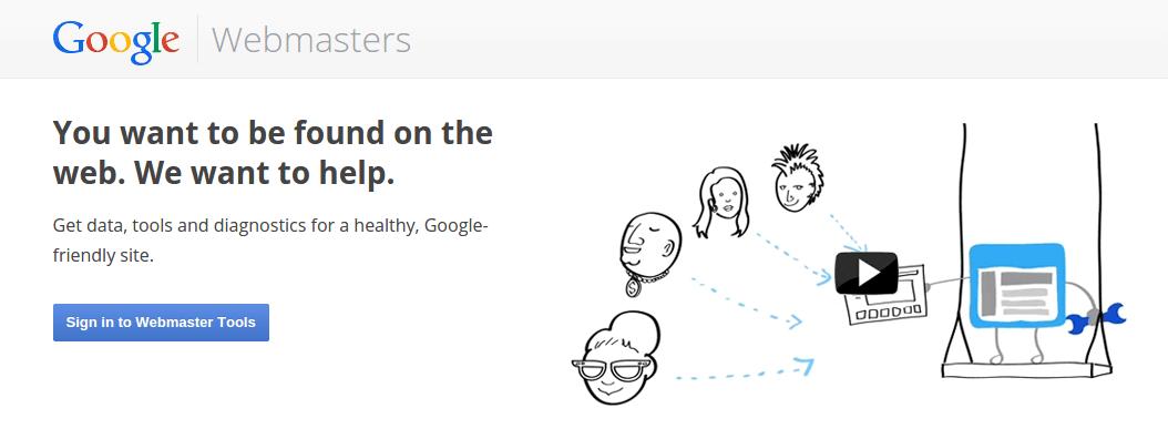 webmaster tools google