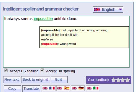 موقع يساعدك على تصحيح الأخطاء في اللغة الإنجليزية - جينات المهوس